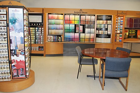 National Lumber Gardner, Massachusetts Benjamin Moore Showroom