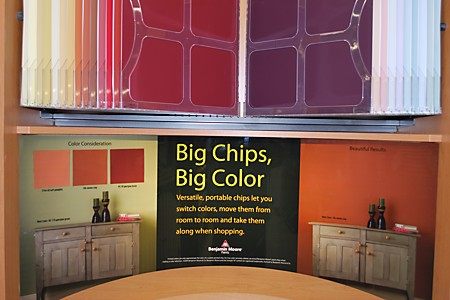 Benjamin Moore Paints - Big Chips, Big Color