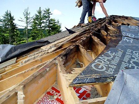 Rotted Roof in the Northeast