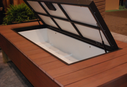 outdoor wood chest plans