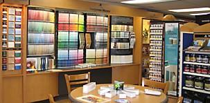 Benjamin Moore Paint Showroom