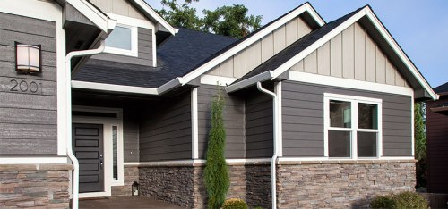 LP® SmartSide® Lap Siding. Image © Louisiana Pacific