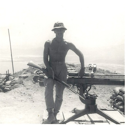 Manny Pina, Marine Corporal in Vietnam, 1968-69