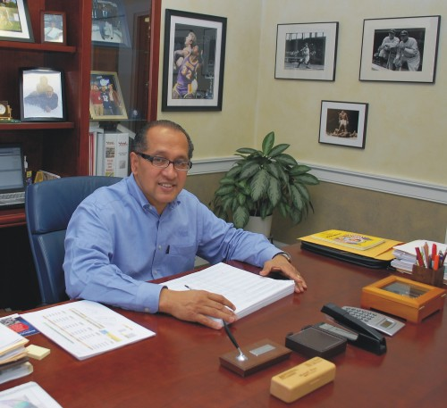 Manny Pina, President of National Lumber Company